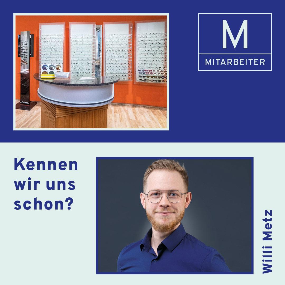 Mitarbeiter Willi Metz
